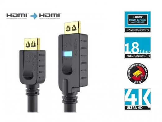 Кабель PI2010-100 Active High Speed HDMI - PureInstall 10,0m