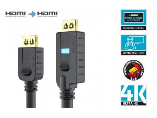 Кабель PI2010-250 Active High Speed HDMI - 10.2Gbps - PureInstall 25,0m